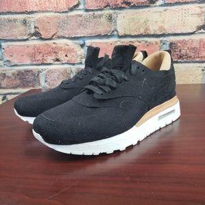 b7fb906e54bcf Nike Shoes - 👑 Nike Air Max 1 ROYAL Black Suede Leather